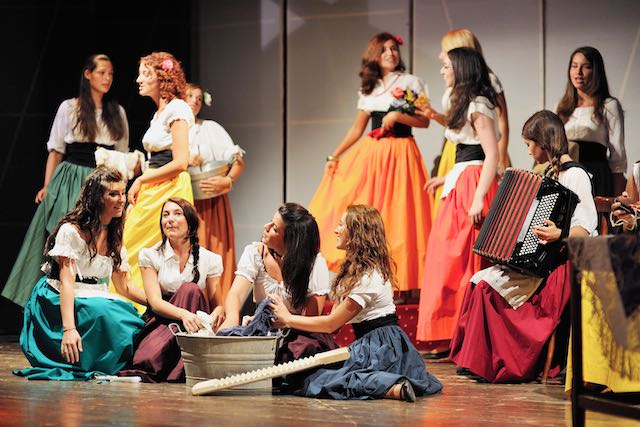 I cori del maestro Fabrizio Barchi al Palladium